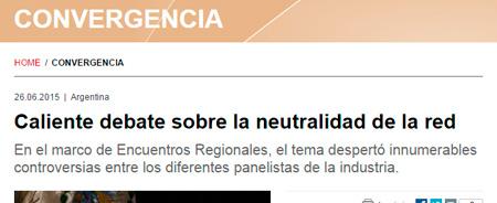 26/06/2015 - Caliente debate sobre la neutralidad de la red
