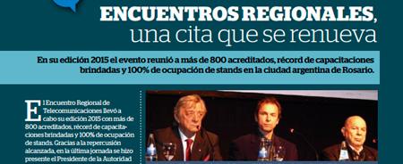 Julio 2015 - Encuentros Regionales, una cita que se renueva