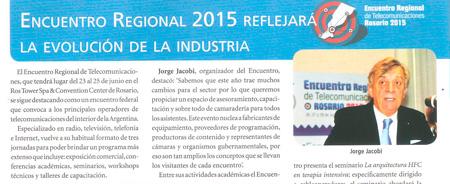 Junio 2015 - Encuentro Regional 2015 reflejará la Evolución de la Industria
