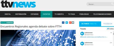 13/05/2015 - Encuentros Regionales agenda debate sobre FTTH