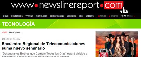21/04/2015 - Encuentro Regional de Telecomunicaciones suma nuevo seminario