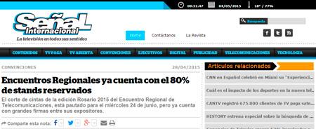 28/04/2015 - Encuentros Regionales ya cuenta con el 80% de stands reservados