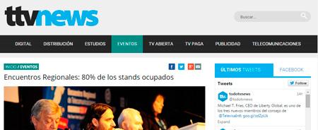 27/04/2015 - Encuentros Regionales: 80% de los stands ocupados