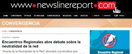 10/06/2015 - Encuentros Regionales abre debate sobre la neutralidad de la red