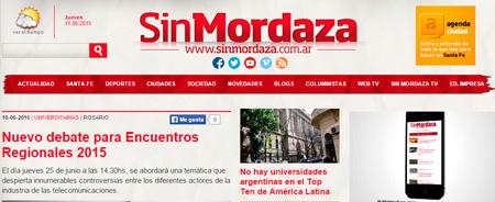 10/06/2015 - Nuevo debate para Encuentros Regionales 2015
