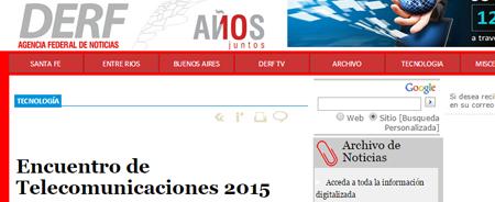 27/01/2015 - Encuentro de Telecomunicaciones 2015