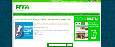 02/12/2014 - Se confirmó la sede del Encuentro de Telecomunicaciones 2015