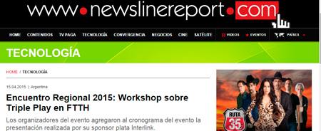 15/04/2015 - Encuentro Regional 2015: Workshop sobre Triple Play en FTTH