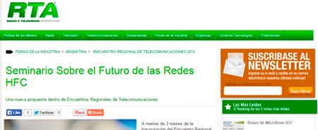 07/04/2015 - Seminario Sobre el Futuro de las Redes HFC