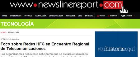 07/04/2015 - Foco sobre Redes HFC en Encuentro Regional de Telecomunicaciones