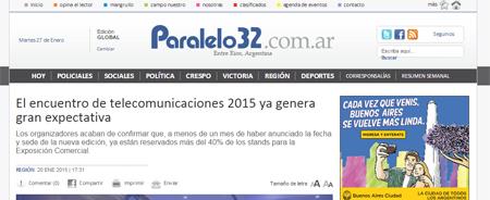 20/01/2015 - El encuentro de telecomunicaciones 2015 ya genera gran expectativa
