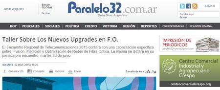 02/03/2015 - Taller Sobre Los Nuevos Upgrades en F.O.