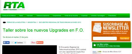 20/02/2015 - Taller sobre los nuevos Upgrades en F.O.