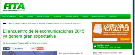 09/02/2015 - El encuentro de telecomunicaciones 2015 ya genera gran expectativa