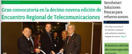 Junio 2015 - Gran convocatoria en la décimo novena edición de Encuentro Regional de Telecomunicaciones