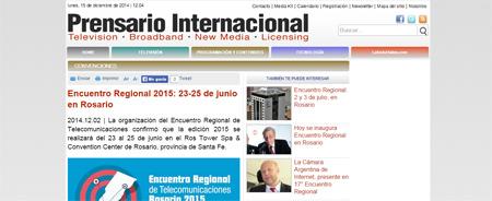 02/12/2014 - Encuentro Regional 2015: 23-25 de junio en Rosario